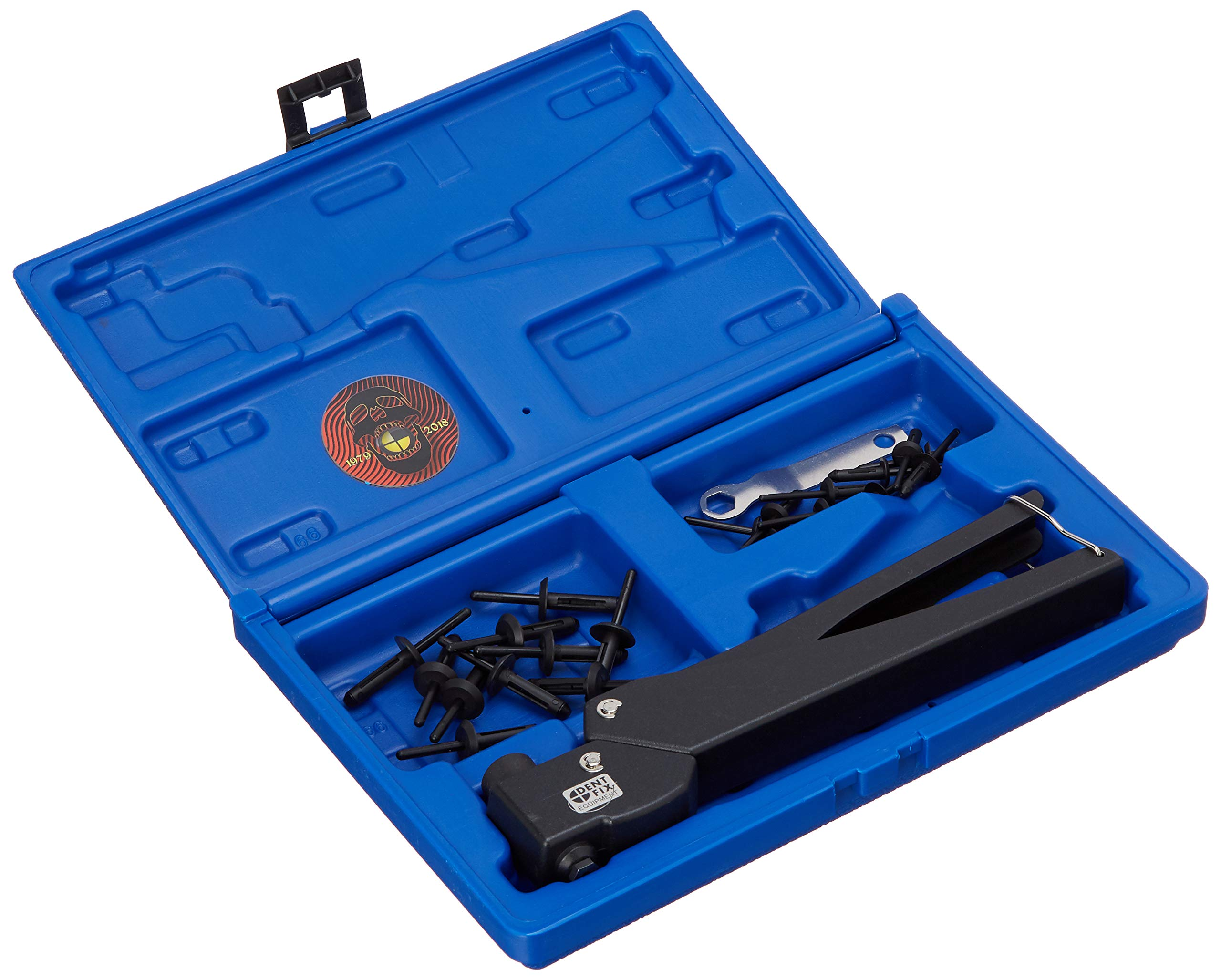 Dent Fix DENDF-CT888 Swivel Slim line Plastic Riveter (Swivel Slimline Plastic Riveter)