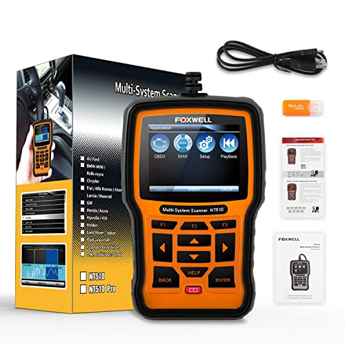 The NT510 BMW code reader is compatible with various BMW models ranging from older 1987-1996 versions to the newer ones.