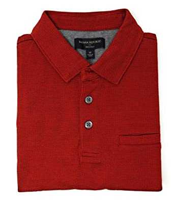 0844c1dd5 Banana Republic Factory Mens Dress Polo Front Pocket Soft Touch Cotton at Amazon  Men s Clothing store