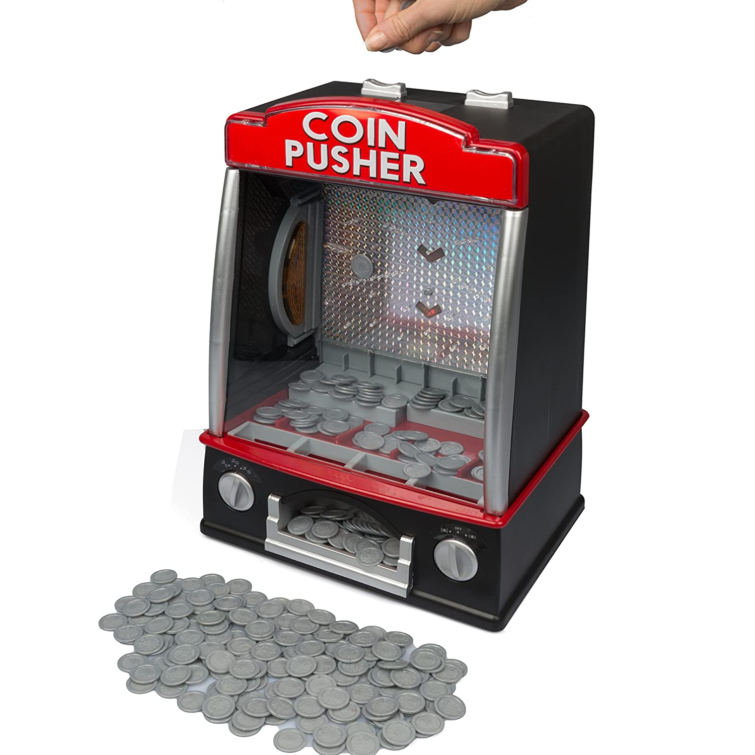 Toy coin drop machine / Tmt coin hack zip