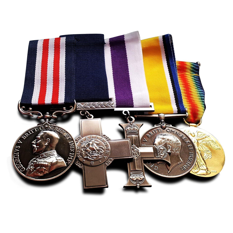 Guerra medallas Militar Cruz Ej/ército medallas Reino Unido Guerra Medalla /& Victoria/ Free cuervos Ltd 5/x Military Medals Groupset: George Cruz Reino Unido medallas /Medalla de copia Premios medallas