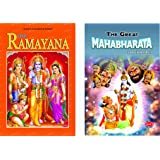 THE RAMAYANA & THE GREAT MAHABHARATA FOR KIDS - English ( Set of 2 Books )