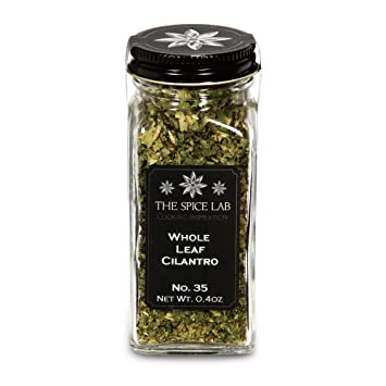 Amazon.com : The Spice Lab No. 35 - Whole Leaf Cilantro Spice - All ...