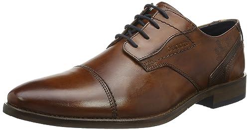 a4f610cfd69a Bugatti Men s 3.12164e+11 Derbys  Amazon.co.uk  Shoes   Bags