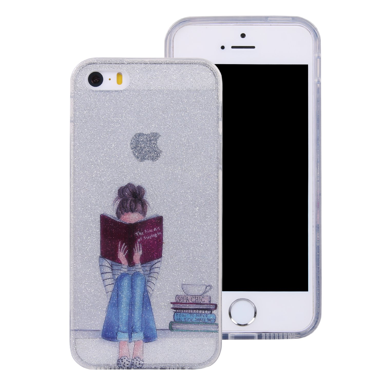 Bunte Muster Design Anlike iPhone 5 5S 5G // iPhone SE Blitzpulver Handy H/ülle iPhone SE H/ülle iPhone 5 H/ülle Tiger Schutzh/ülle Etui Bumper f/ür iPhone 5 5S 5G // iPhone SE iPhone 5S H/ülle