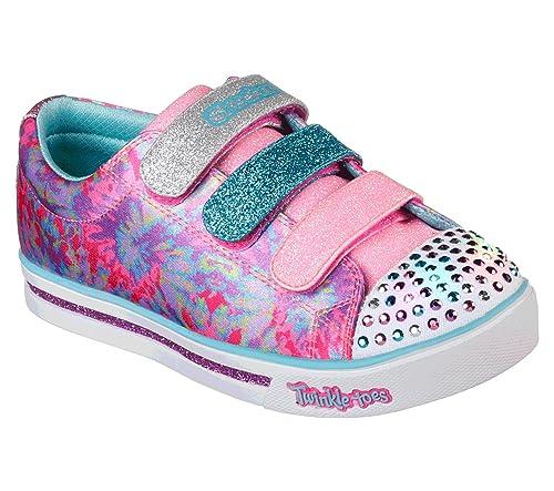Skechers Mädchen Sparkle Lite Flutter Fab Sneaker
