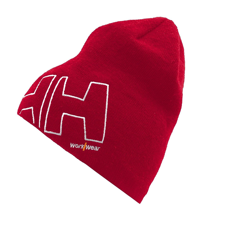Helly Hansen M/ütze aus Mikrofleece mit Logo HH WW Beanie 79830 orange