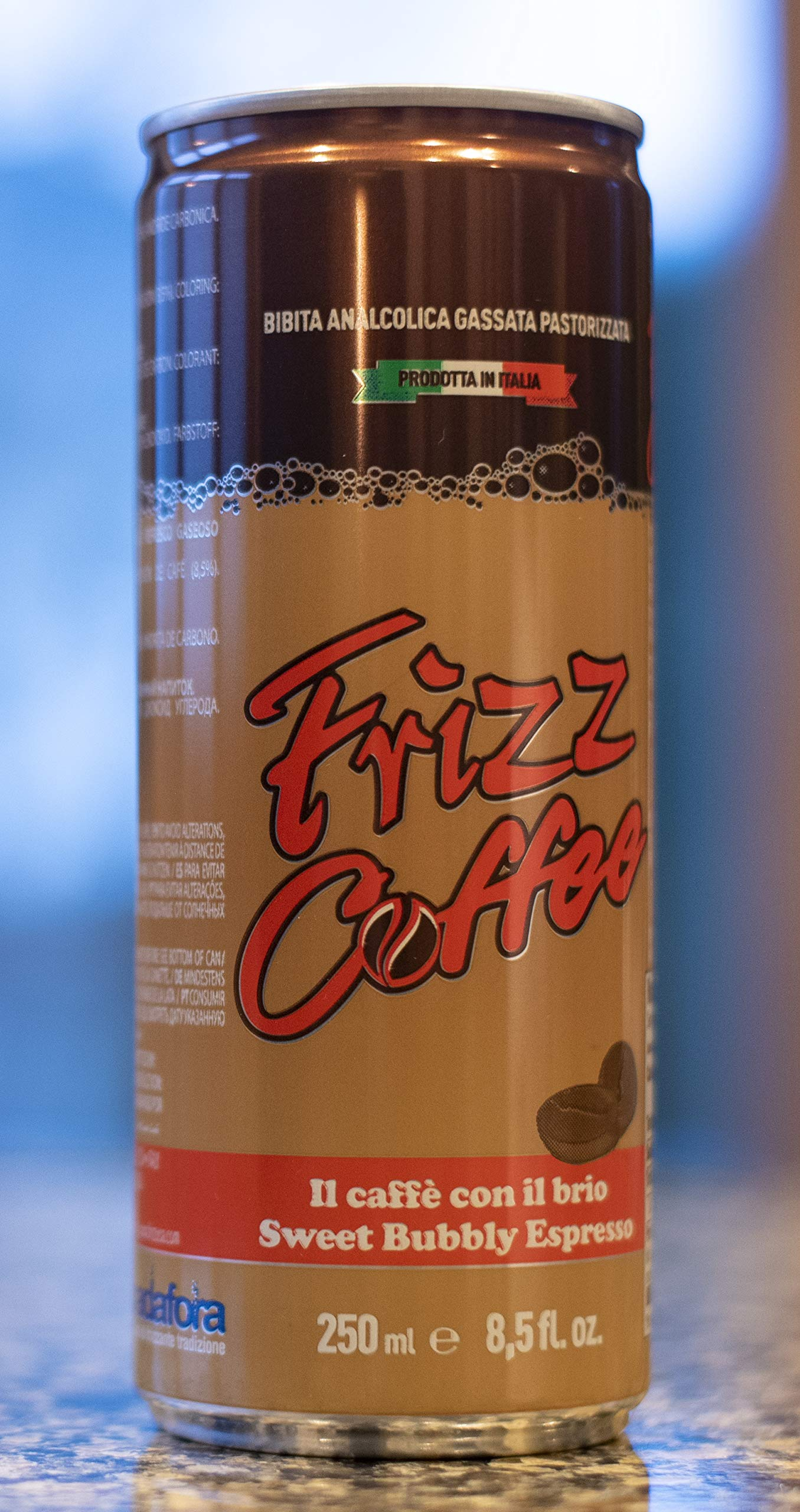 Frizz, Carbonated Coffee Drink, 8.5 Ounce (24 pack cans)