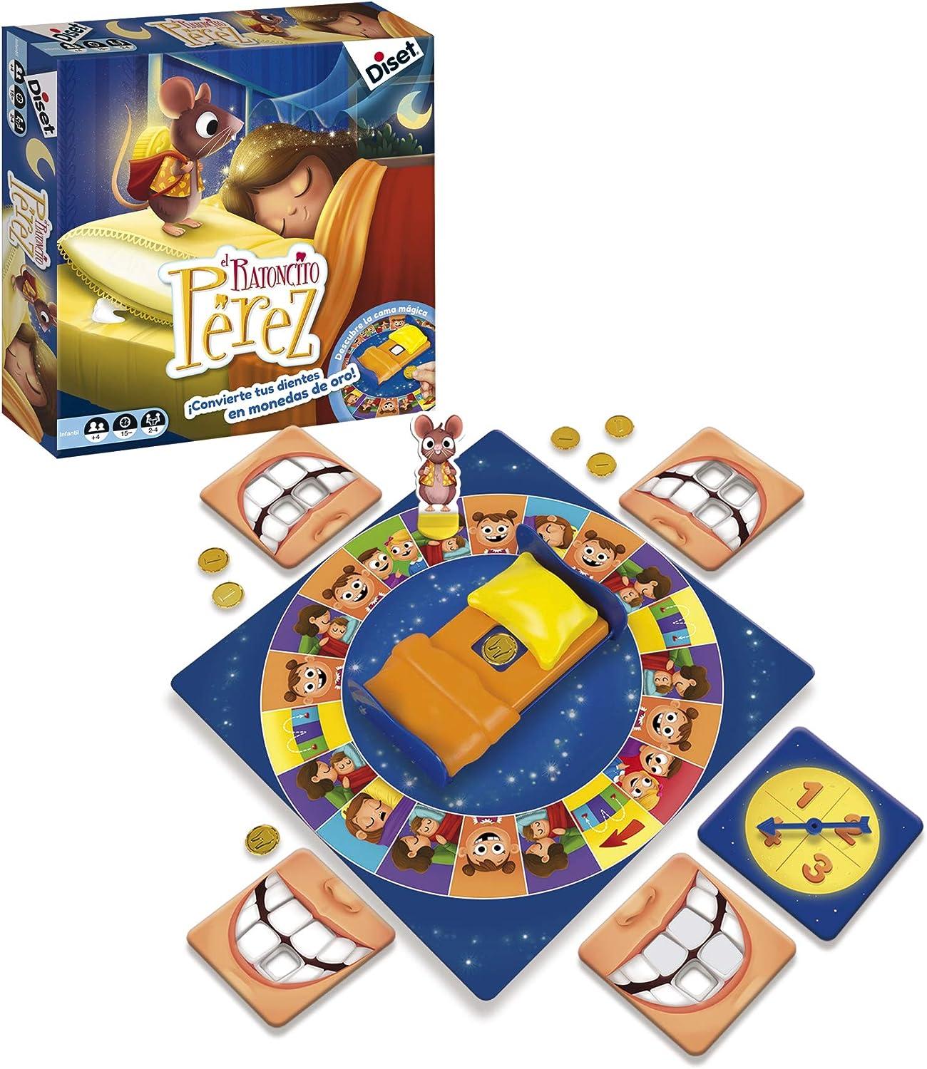 Diset - El ratoncito Pérez: Amazon.es: Juguetes y juegos