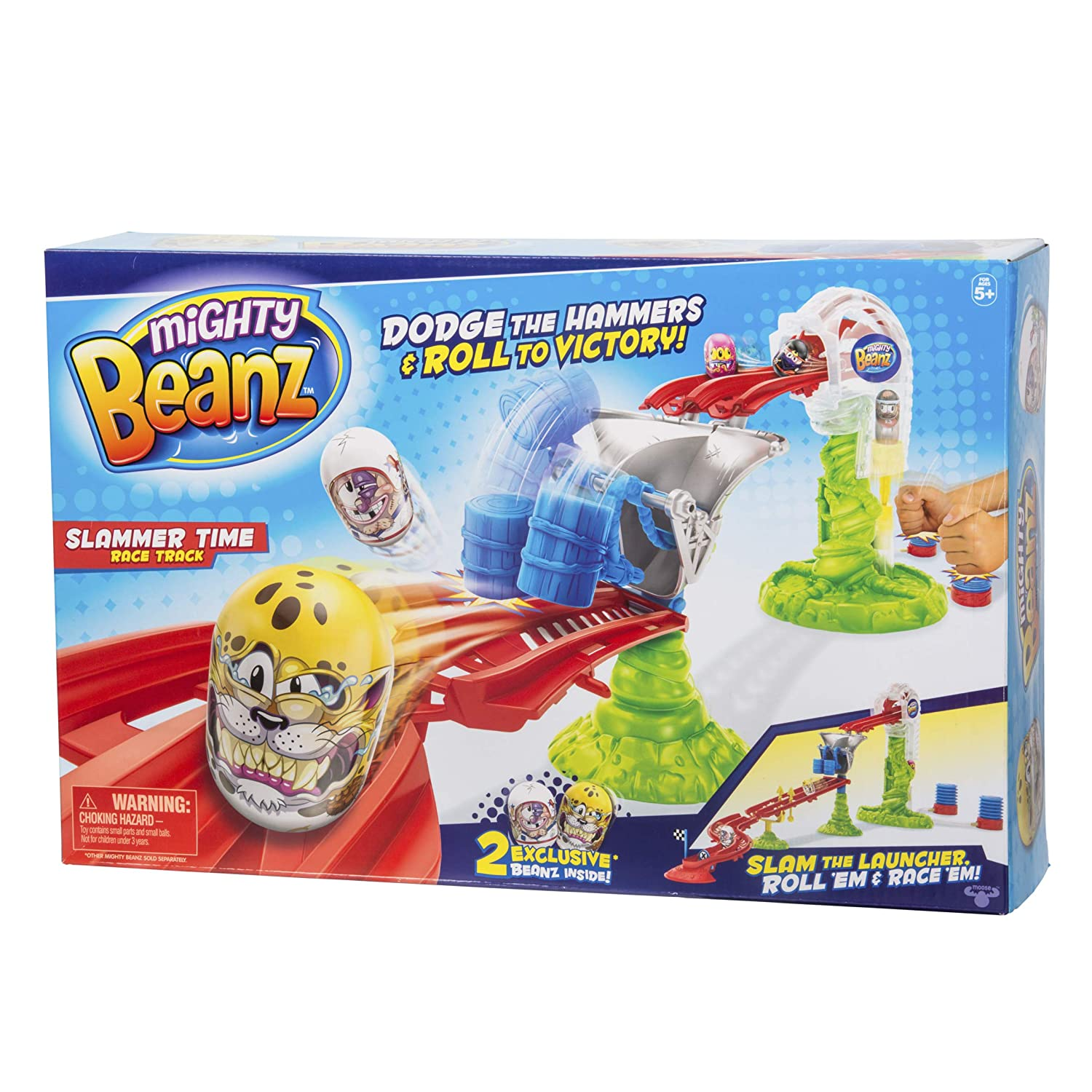 Mighty Beanz Slammer Time Race Track Moose Toys 66504