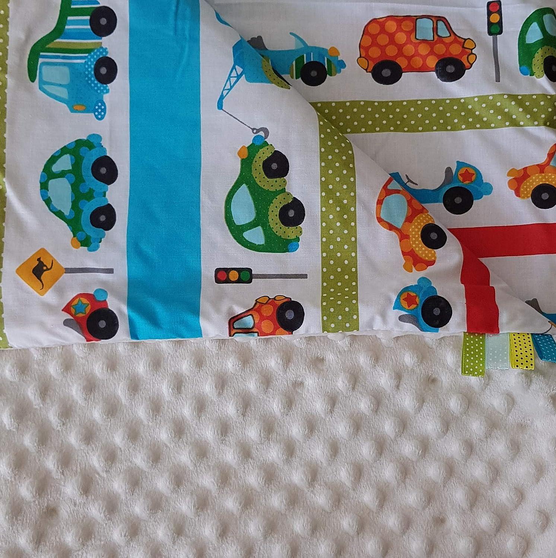 Minky Baby manta para gatear techo Super Suave y Agradable. Mano beige Auto Creme Talla:75x100cm: Amazon.es: Bebé