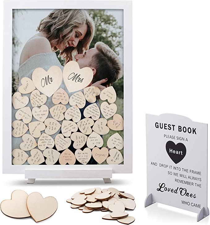 guestbook drop box wedding signature frame Wedding guestbook alternative cowboy boot sign in guestbook rustic wedding 100 guest