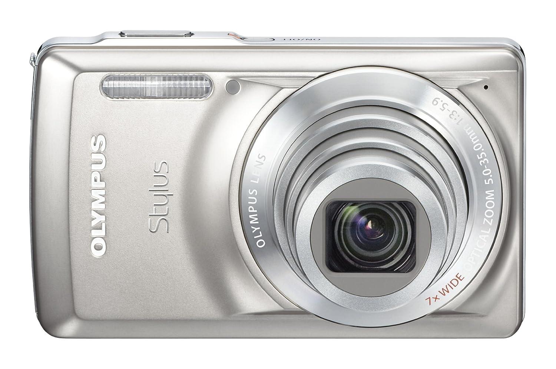 Olympus Stylus 7030 14 MPデジタルカメラwith 7 x Wide AngleデュアルイメージStabilizedズームと2.7-inch LCD (チタン) (Oldモデル)   B0031RGEQI