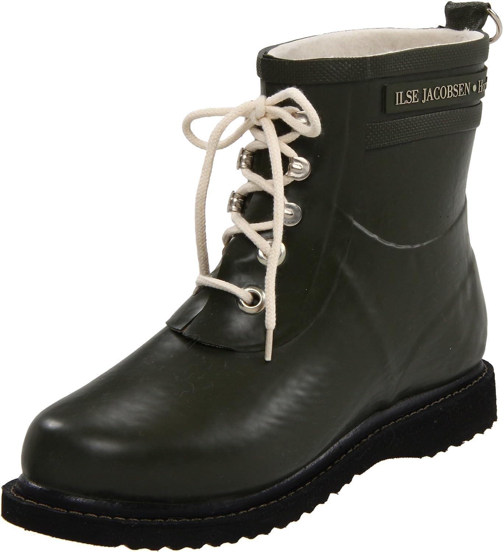 ILSE JACOBSEN Women's Rub 2 Rain Boot B005X7BJ2S 40 M EU / 10 B(M) US|Army