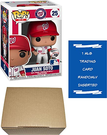 Funko Juan Soto Washington Nationals Pop! Paquete de figuras con 1 ...