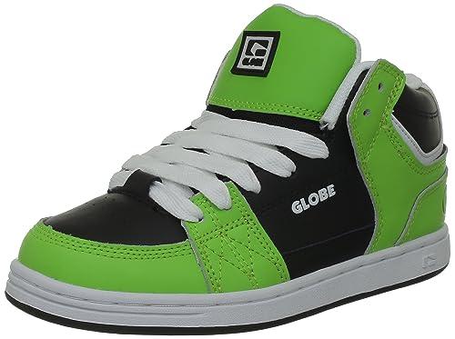 Globe Mace Hi-Kids - Zapatillas de skate de cuero para niño: Amazon.es: Zapatos y complementos