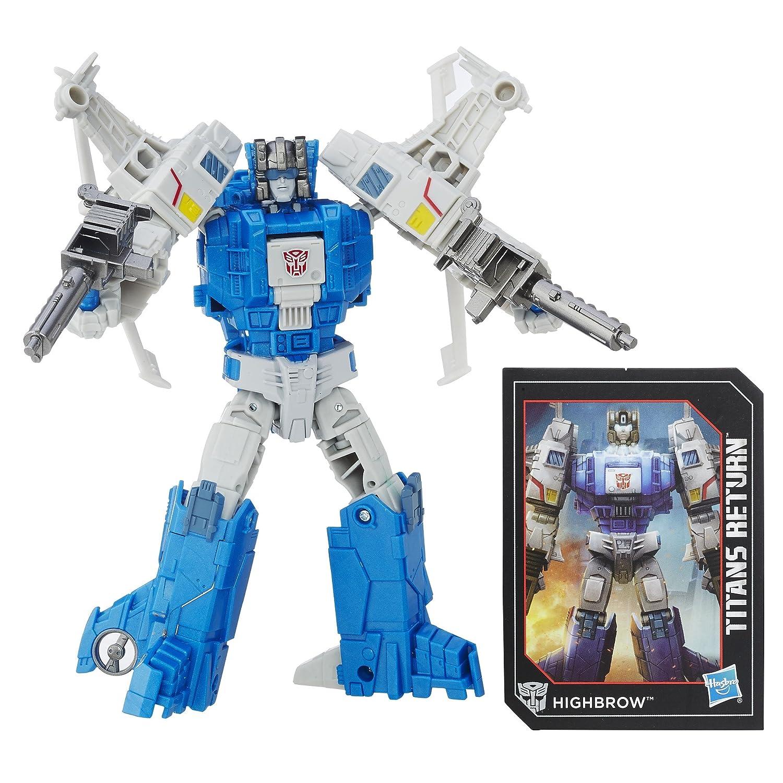 buena calidad Transformers Generaciones Generaciones Generaciones Titans retorno Titan Master xort y highbrow  nueva gama alta exclusiva