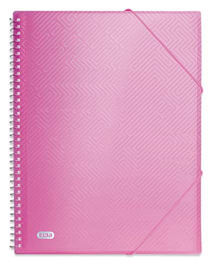 LEITZ Sichtbuch WOW A4 PP mit 40 Hüllen pink metallic
