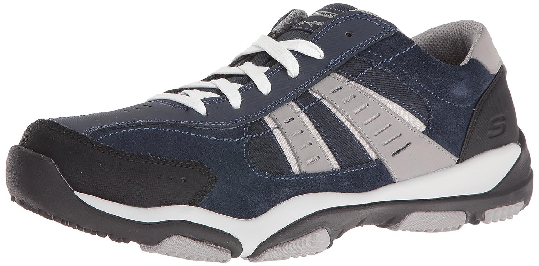 Skechers Larson-Nerick, Zapatillas para Hombre 6|Navy / grey