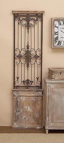 Deco 79 80944 Metal Wood Wall Gate Makes You Fall