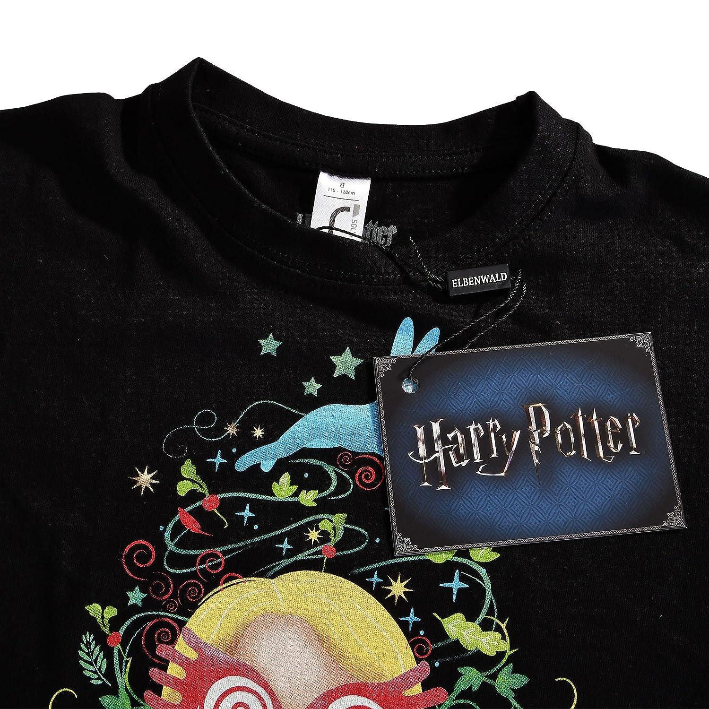 Chibi Para Niños Lovegood Elfo Harry Potter Luna Bosque Camiseta DbEYHIeW29