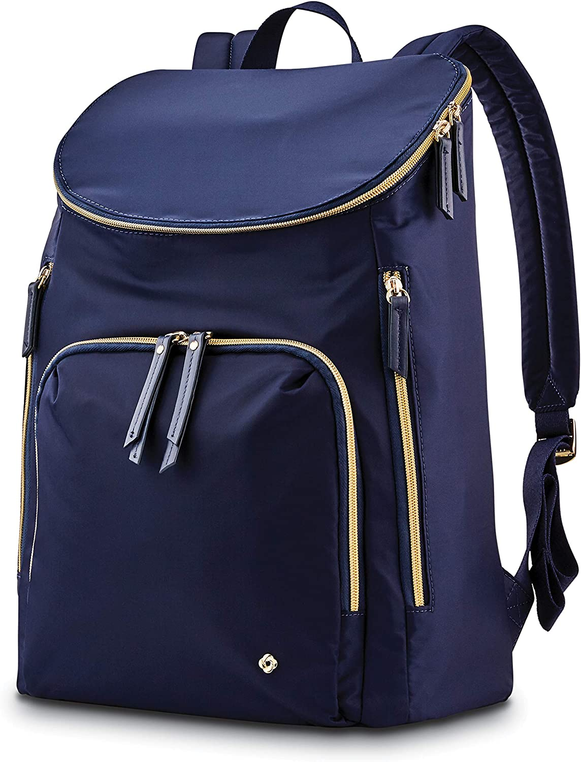 Samsonite Women's Mobile Solution Business Travel (Navy Blue, Deluxe Backpack)