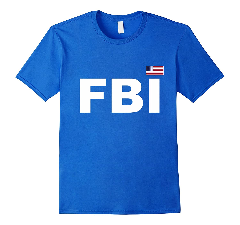 FBI T-Shirt Guards Uniform Law Enforcement Tee-FL