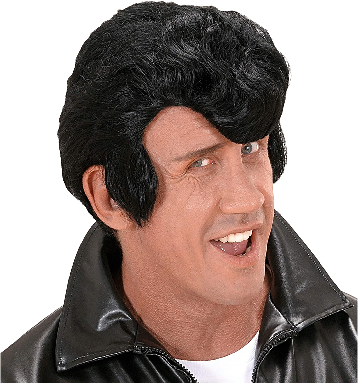 WIDMANN Black Danny wig for men (peluca)
