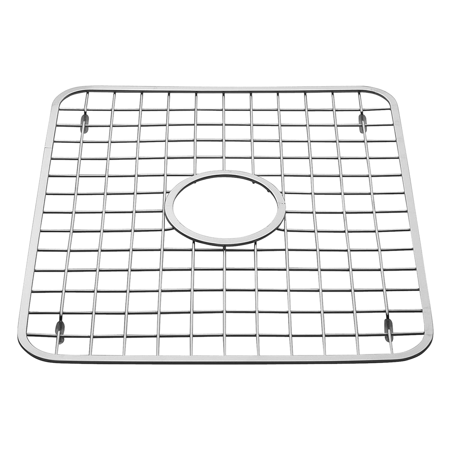 Beautiful Amazon.com: InterDesign Gia Kitchen Sink Protector   Wire Grid Mat With  Center Drain Hole, Polished: Home U0026 Kitchen