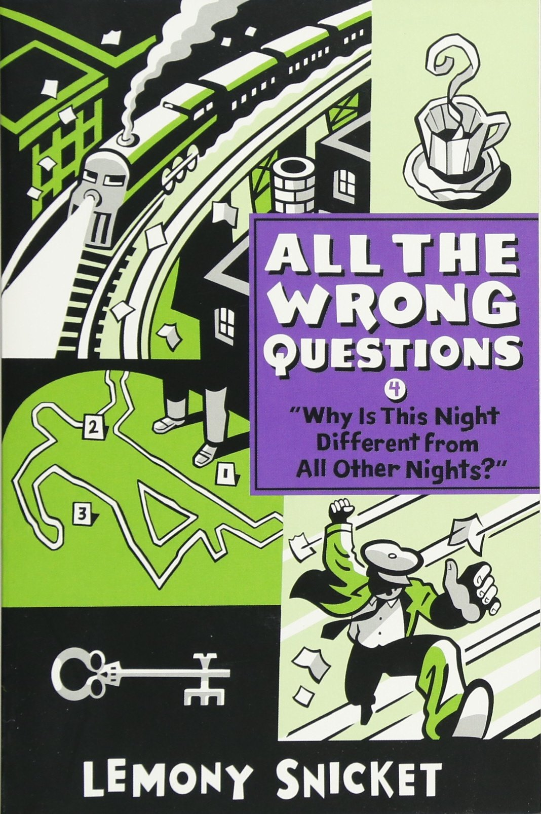"""""""Why Is This Night Different from All Other Nights?"""" (All the Wrong  Questions): Lemony Snicket, Seth: 9780316380621: Amazon.com: Books"""