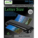 Apache Laminating Pouches, 5 mil, Letter Size, 300 Pack