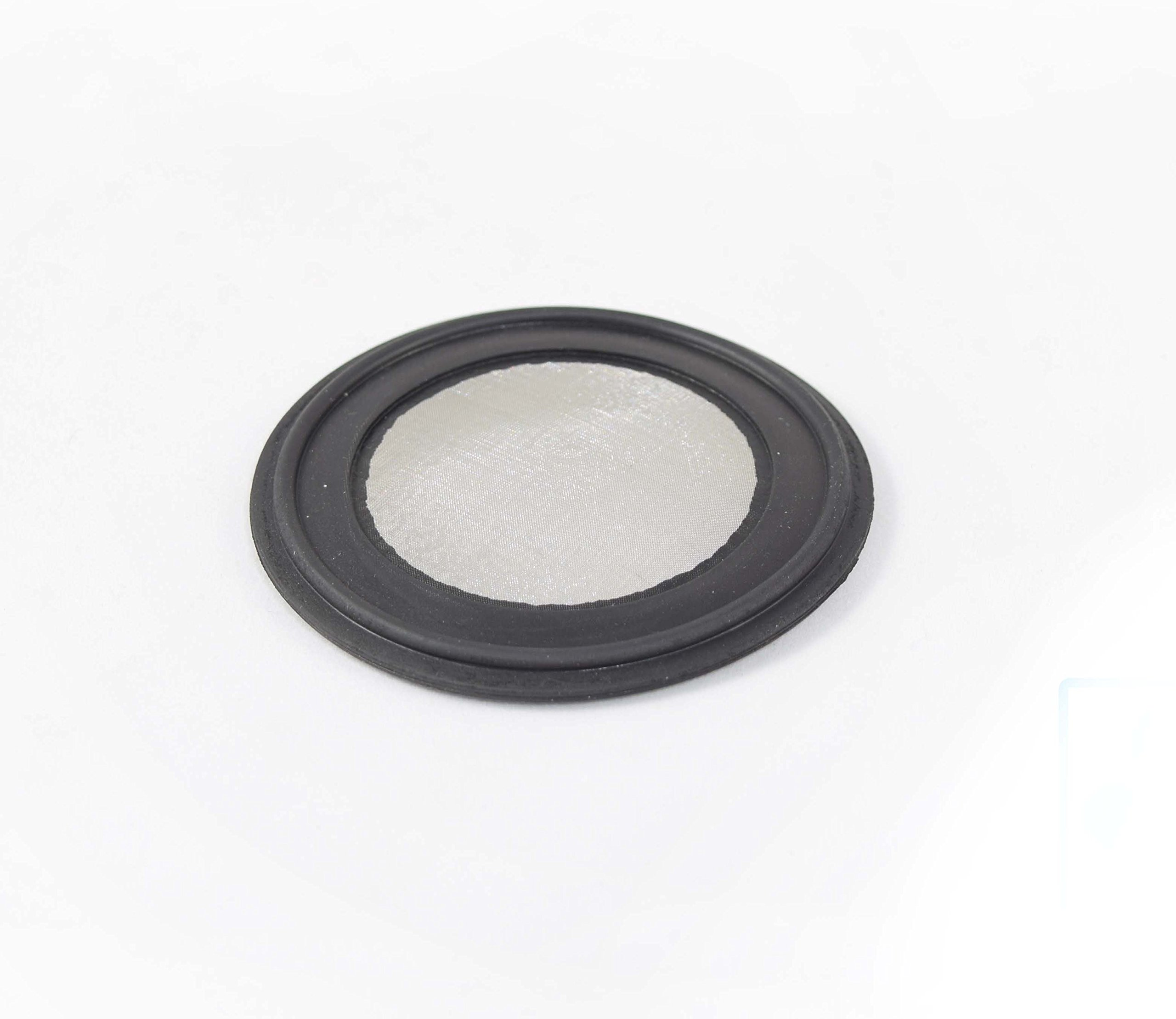 ARTESIAN SYSTEMS 20 Micron VITON/FKM Tri Clamp Screen Filter Gasket 316L (20Uf Micron/625Mesh) Stainless Steel Pharmaceutical Grade Filter Mesh. VITON With & FDA Certification (3'') by ARTESIAN SYSTEMS