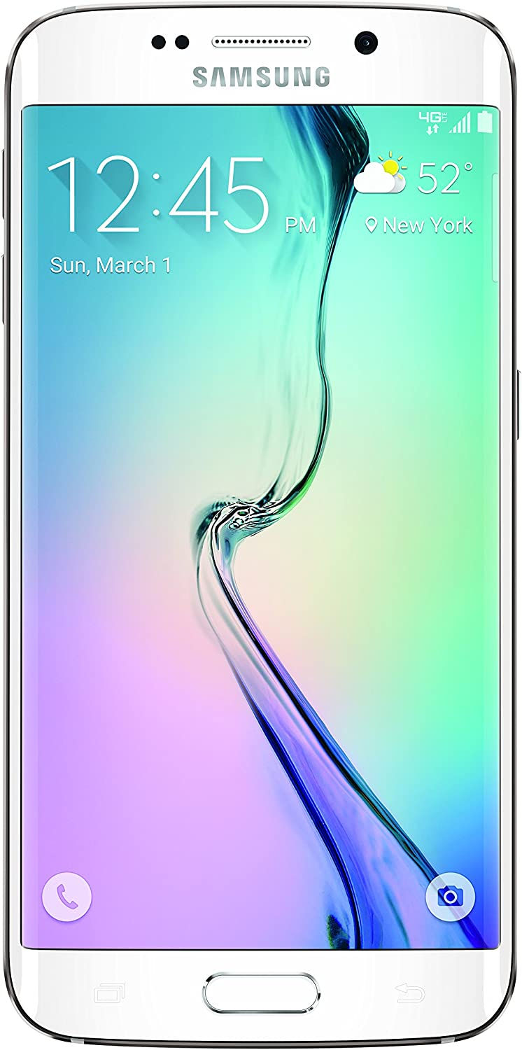 Samsung Galaxy S6 Edge, White Pearl 32GB (Verizon Wireless)