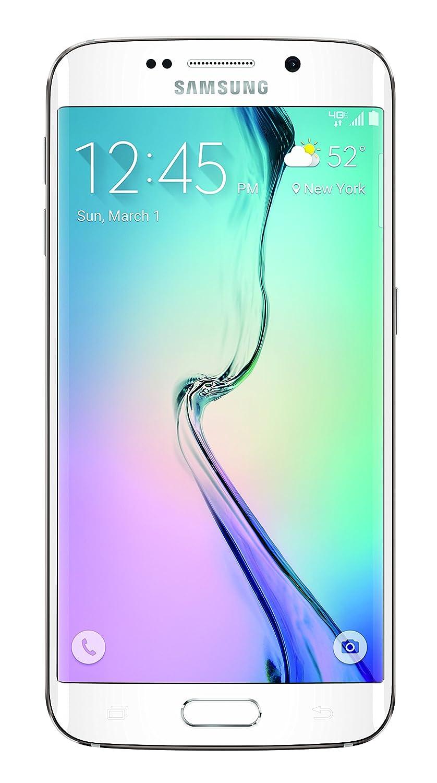 Samsung Galaxy S6 Edge White Pearl 64gb Att Cell Note 32gb Phones Accessories