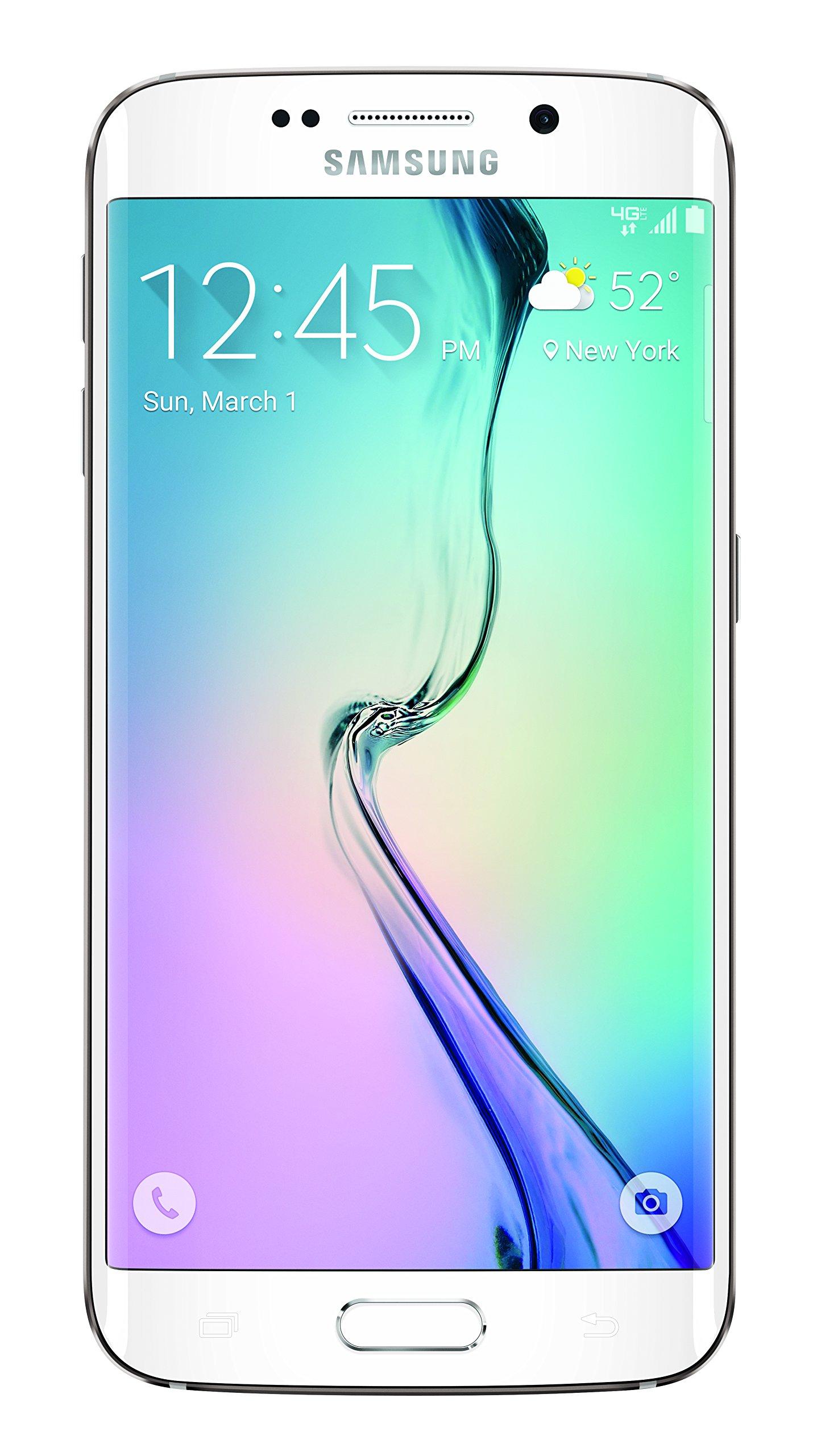 Samsung Galaxy S6 Edge, White Pearl 64GB (Verizon Wireless)