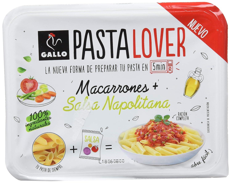 Gallo Pastalover Macarrones Napolitana - 200g: Amazon.es: Alimentación y bebidas