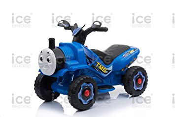 69f284c4158 Image Unavailable. Image not available for. Colour: toyzz KIDS NEW THOMAS  TRAIN STYLE MOTORBIKE RIDE ON TRICYCLE 6V BATTERY CAR BIKE ...