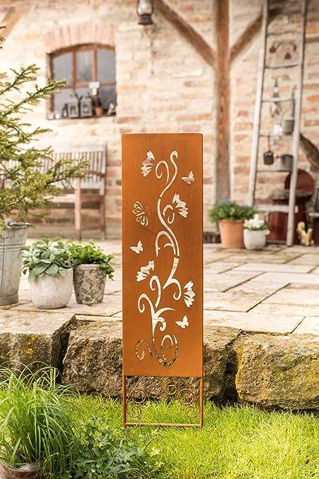 amelex 67 Panel para Jardín, Déco Romántico Façon Oxidado, Metal con de Las Cortes: Amazon.es: Jardín
