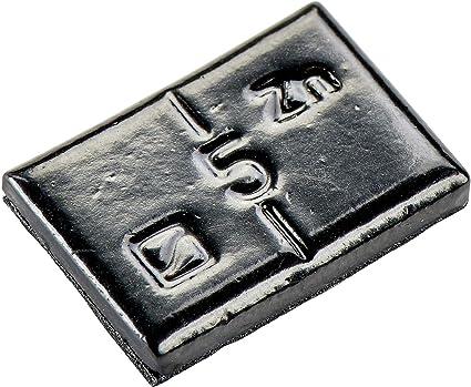 100x Klebegewichte Schwarz Typ361 5g Klebegewichte Alufelgen Auswuchtgewichte Auto
