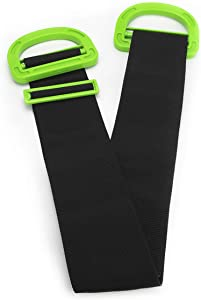 Moving & Lifting Straps Adjustable for Furniture, Boxes, Mattress, Construction Materials, or Other Heavy, Bulky, or Awkward Objects, Single or Two Person Carrying, 1 Strap Included