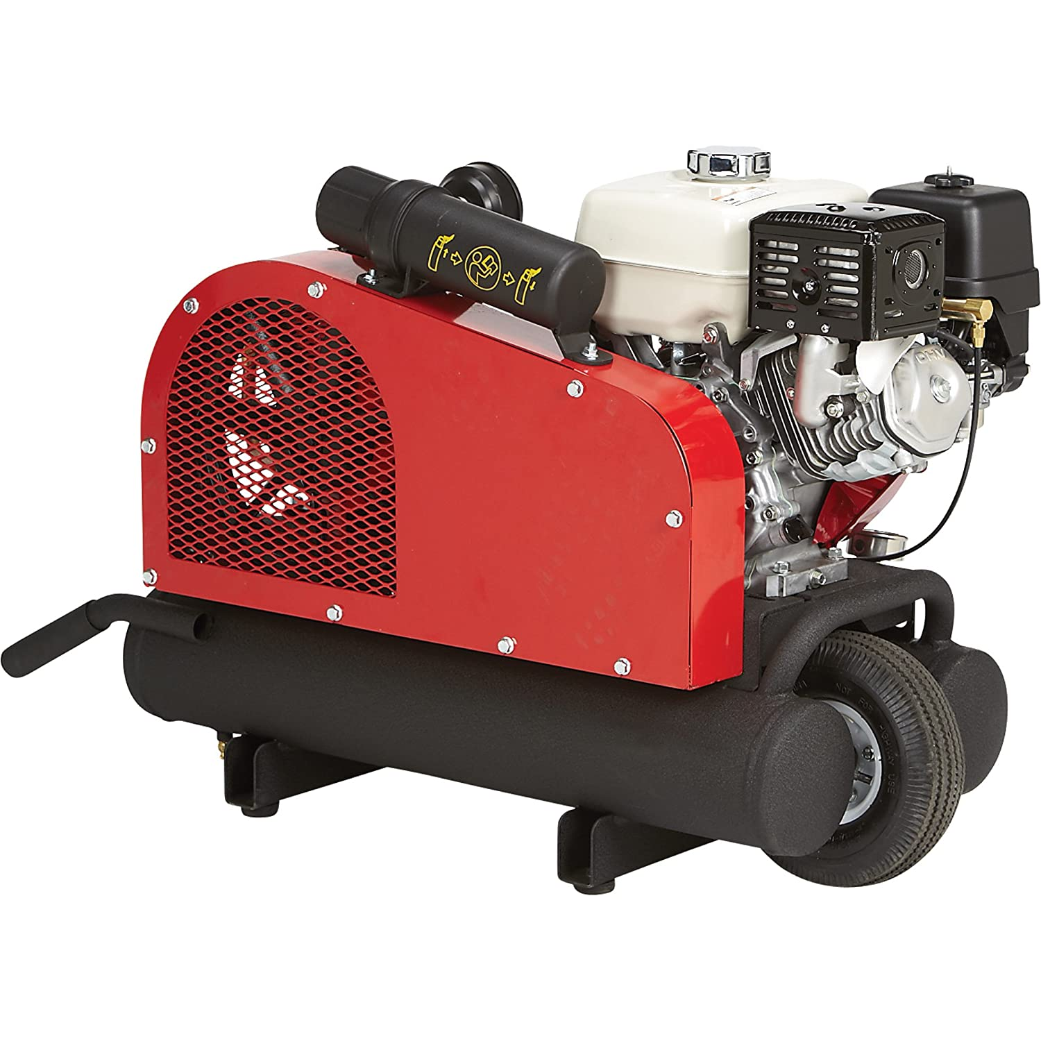 small gas powered air compressor. amazon.com: - northstar gas-powered air compressor honda gx270 ohv engine, 8-gallon twin tank, 14.9 cfm @ 90 psi: home improvement small gas powered