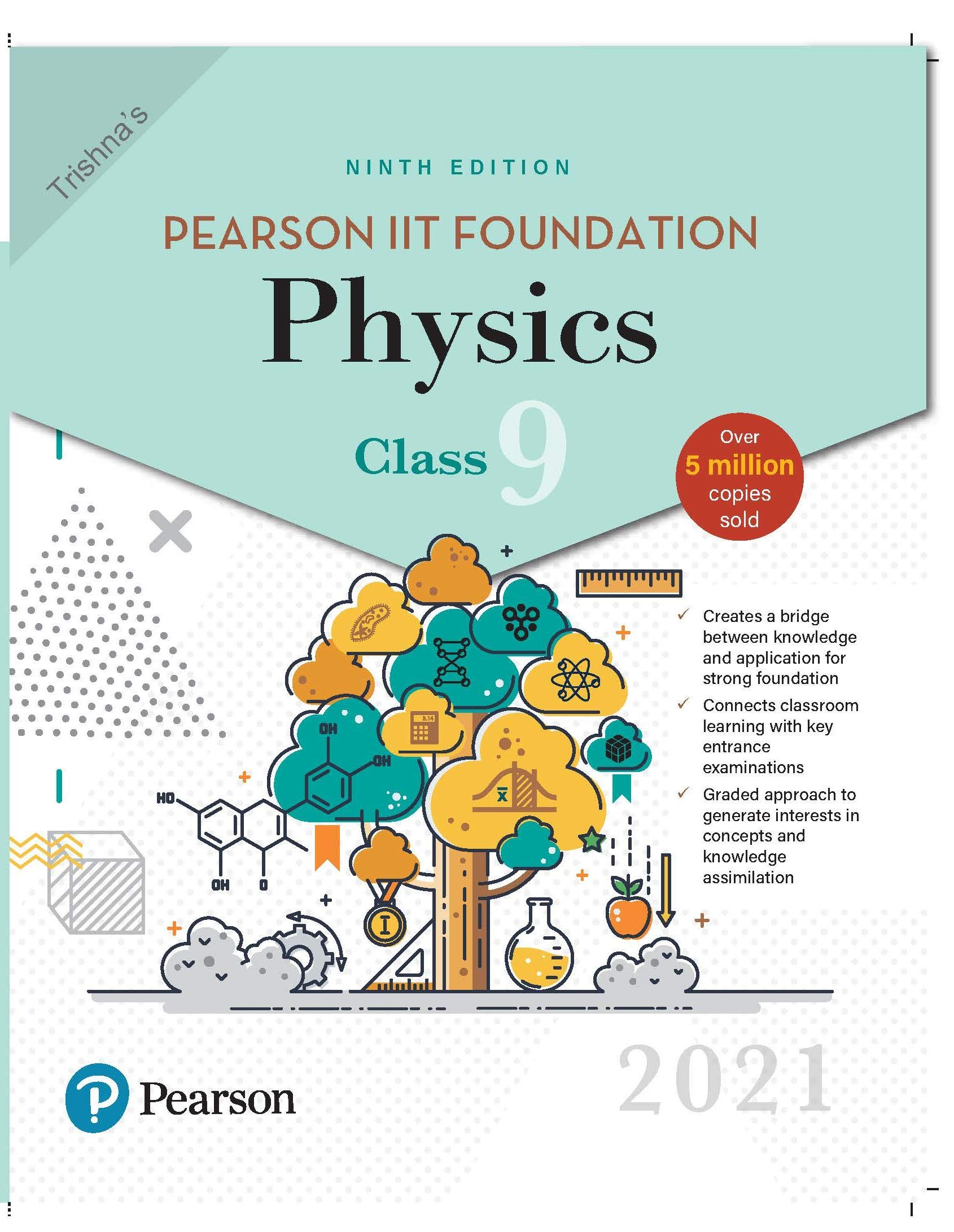 Pearson IIT Foundation Physics | Class 9| 2021 Edition| By Pearson