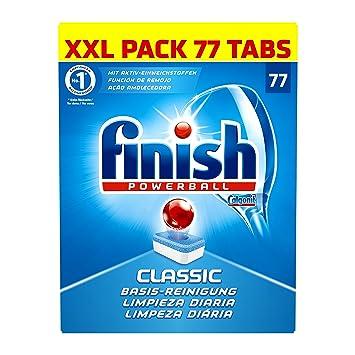 Finish Classic - Pastillas para lavavajillas: Amazon.es: Salud y ...