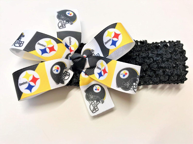 efaaefbb Pittsburgh Steelers Headband Girls Steelers Football NFL Hair Bow ...