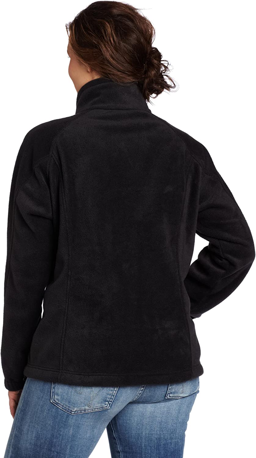 Soft Fleece with Classic Fit Columbia Womens Benton Springs Full Zip Jacket