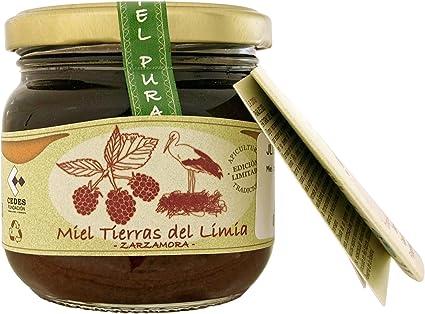 Jalea de Luz Miel Cruda Pura de Zarzamora - 250 gr.: Amazon.es ...