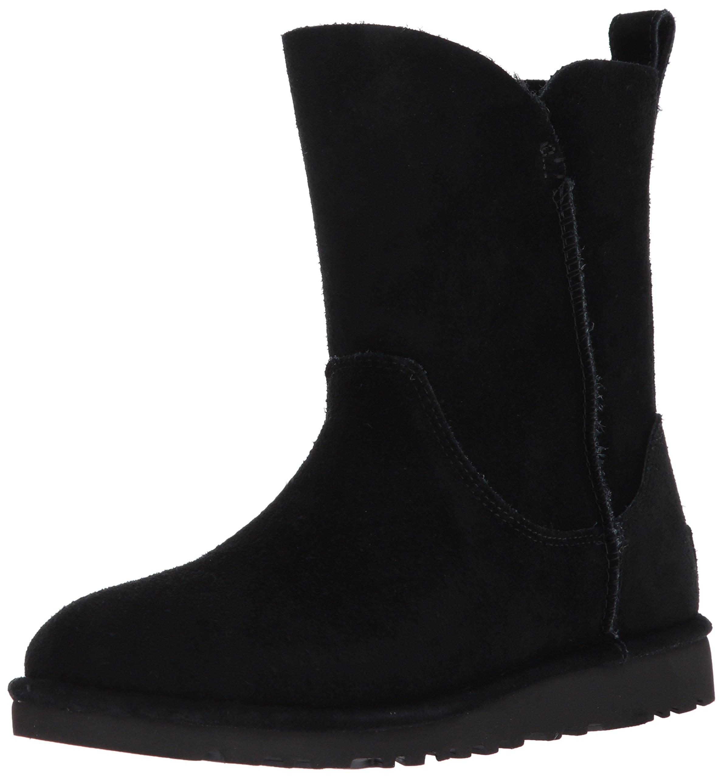 UGG Women's Alida Slouch Boot, Black, 9 M US