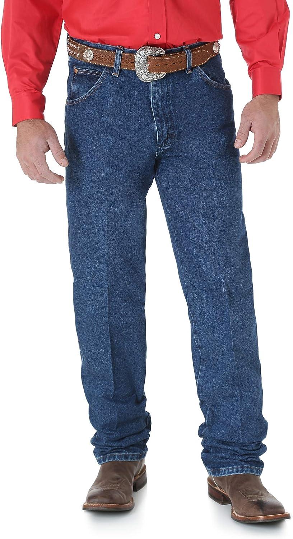Wrangler Jean de corte vaquero original para hombre