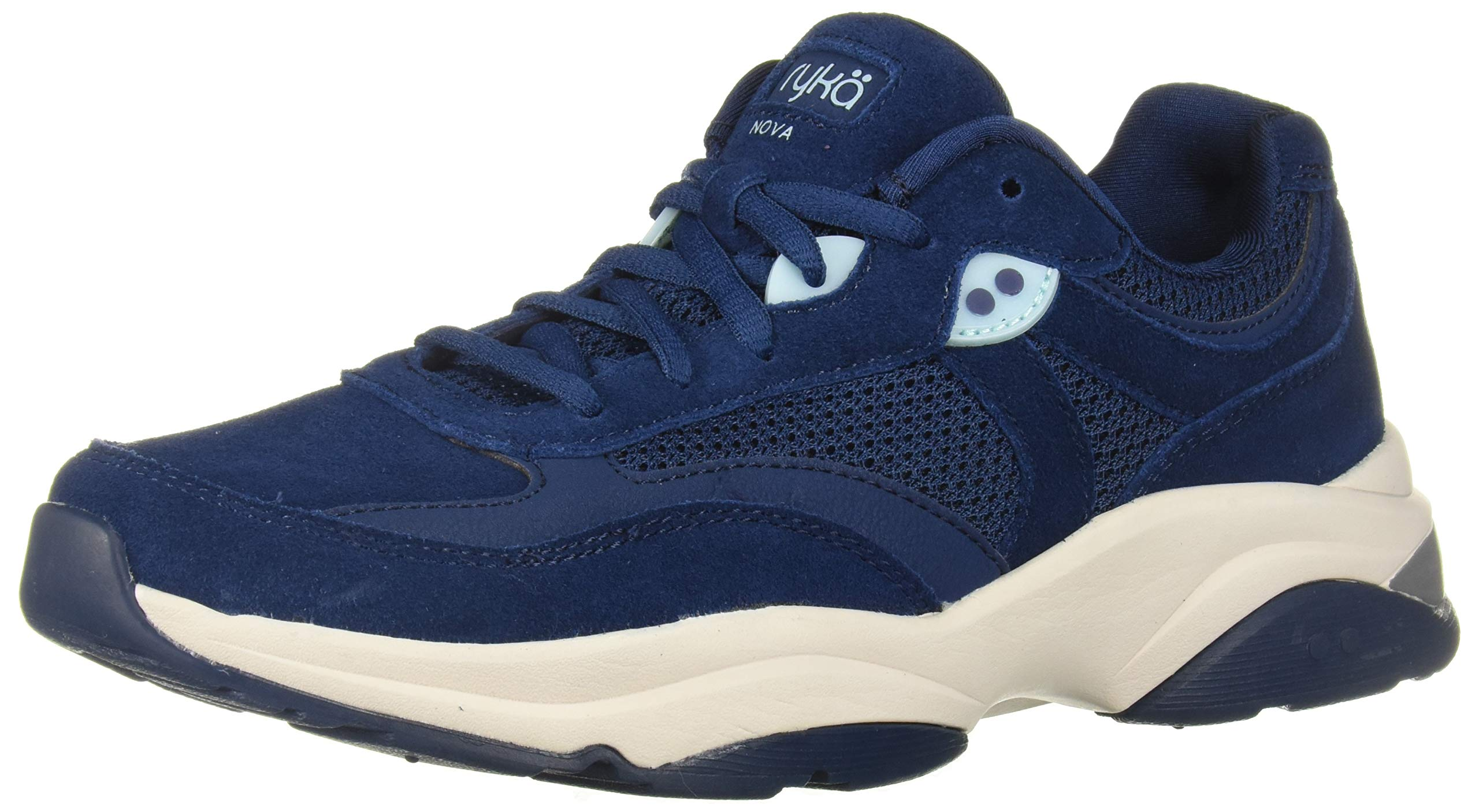 Ryka Women's NOVA Walking Shoe, Navy, 7 W US by Ryka