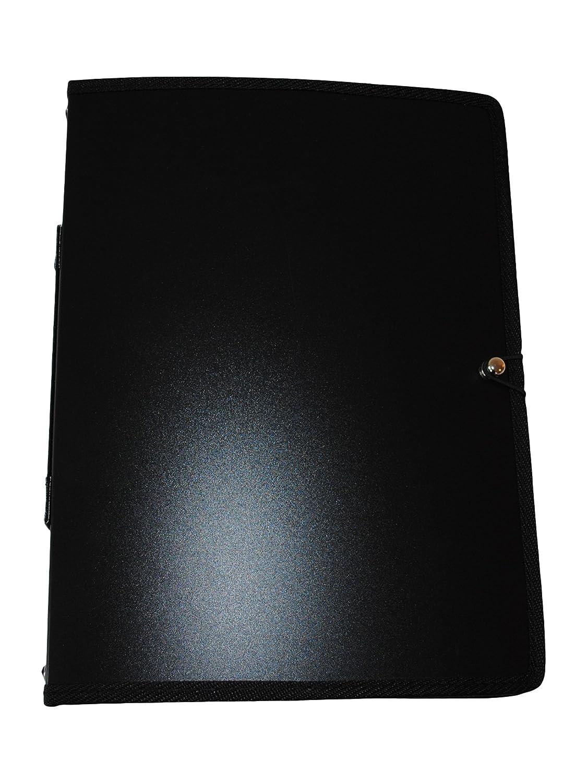 Mapac - Cartellina A4 rilegata, Nero MP11630-BK